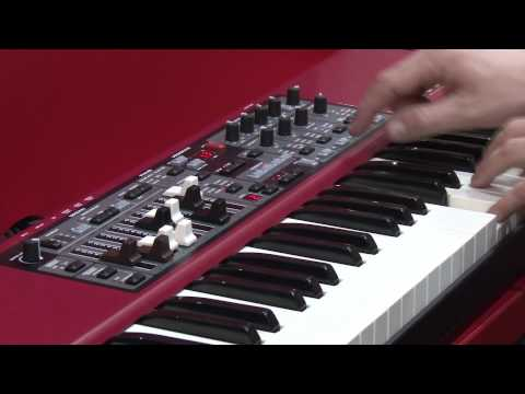 Musikmesse 2012 Frankfurt - Clavia Nord Electro 4d english