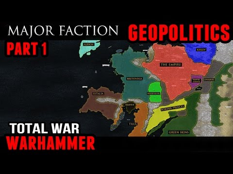 Total War: Warhammer - Geopolitics (Major Factions)