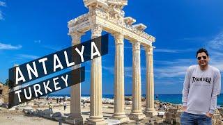 Antalya Turkey TRAVEL VLOG || I loved it more than Istanbul