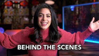 "Shadowhunters 3x03 Behind the Scenes ""What Lies Beneath"" (HD) Izzy & Clary Fight The Owl"