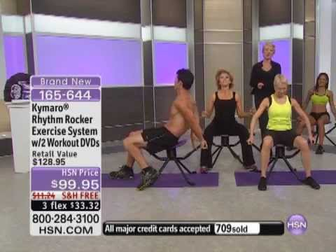 Kymaro Rhythm Rocker Exercise System with 2 Workout DVDs