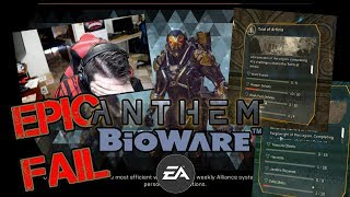 "Anthem Loading Screens & ""Tomb"" GRIND - Angry Rant!"