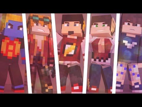 Minecraft: Time de 5 Pessoas - SKY WARS EGGS ‹ AM3NlC ›