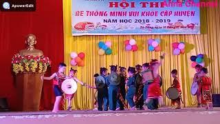 Múa hát Tiếng chày trên sóc Bom Bo do trường MG Tuổi Ngọc