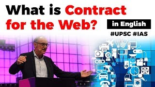 What is Contract for the Web? Sir Tim Berners Lee announces 9 principles in Contract #UPSC2020 #IAS