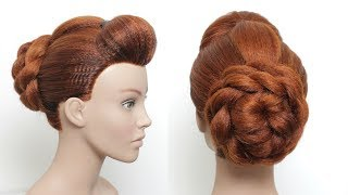 Simple Juda Hairstyle For Special Occasion