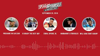 SPEAK FOR YOURSELF Audio Podcast (09.25.19)with Marcellus Wiley, Jason Whitlock | SPEAK FOR YOURSELF