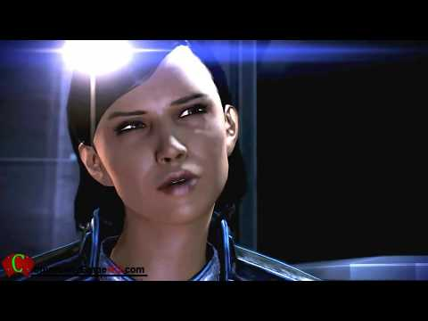 Sex Mass Effect 3 Samantha Traynor Romance Sex / Shower ME3 Full CutScenes & Female Shepard