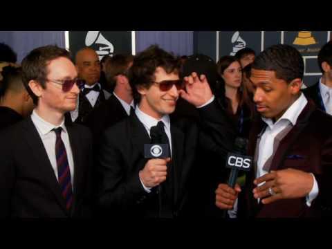 52nd Grammy Awards - Akiva Schaffer And Andy Samberg Interview
