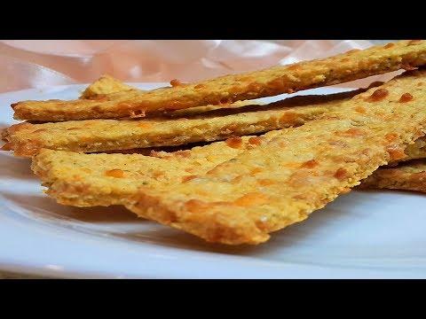 Овсяные палочки(овсяное печенье) с сыром, диетическое,рецепт как приготовить.Oatmeal Sticks