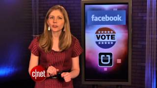 CNET Update - Facebook pushes you to vote