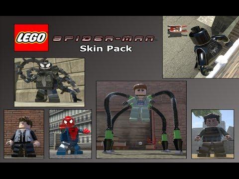 lego marvel super heroes sam raimi spiderman mod pack