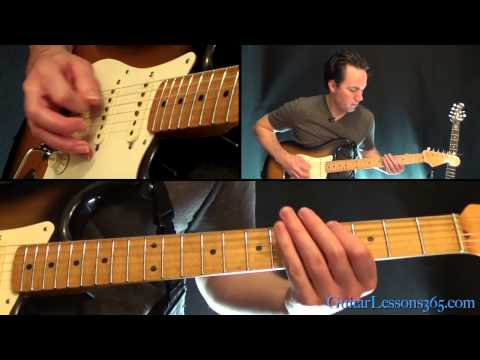Sweet Emotion Guitar Lesson Pt.1 - Aerosmith - Rhythm Guitar Parts video