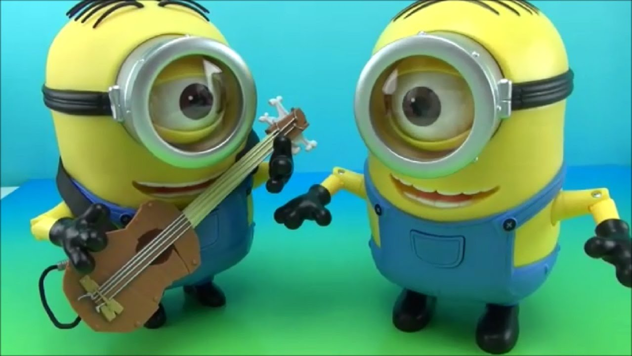 Minion Stuart With Guitar Minion Stuart Interacting