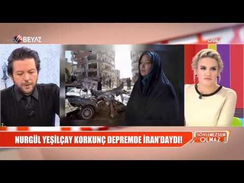 Nurgül Yeşilçay, korkunç depremde İran'daydı!
