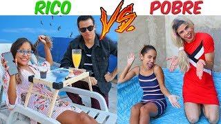 RICO VS POBRE - DIA DAS CRIANÇAS! - KIDS FUN