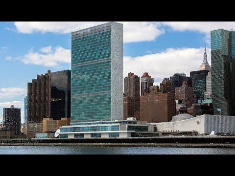 День Победы! Выступление Хора Турецкого в ООН.