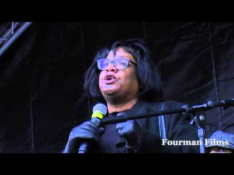 Diane Abbott MP Stand Up to Racism and Facism 21 03 15