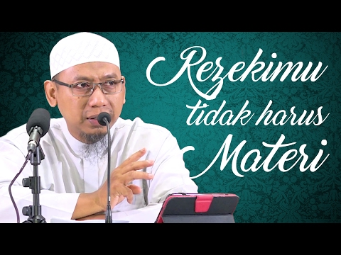 Video Singkat: Rezekimu Tidak Harus Materi - Ustadz Muhammad Ali Abu Ibrahim