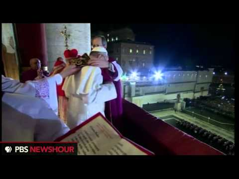 Watch Pope Francis Make His First Appearance