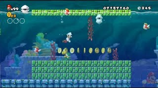 New Super Mario All Stars HD: Super Mario Bros Lost Levels REMAKE 100% Mundo 3 y 4
