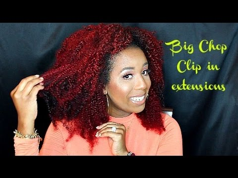 Big Chop Hair Clip In Extensions | Initial Review