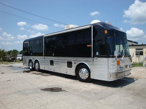 Bus & Car Company Silver Eagle RV Bus with Slideout - For Sale Florida