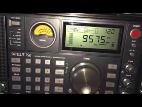 China Radio International, English language broadcast, 9570 and 9580 kHz
