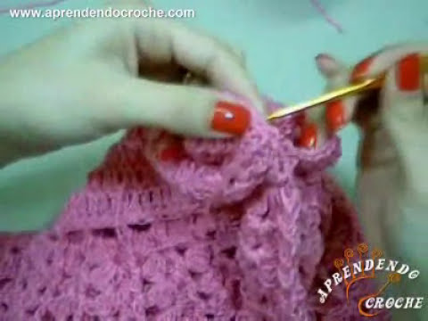 Vestido de Croche para Bebê Princesinha - Aprendendo Crochê