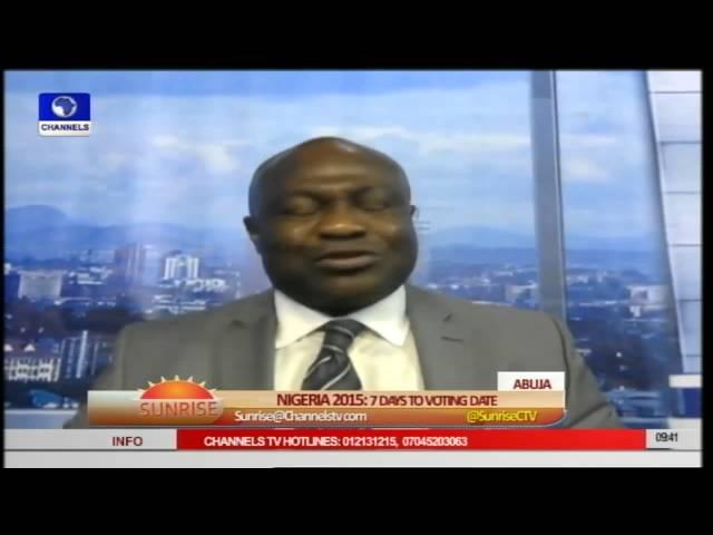 Obahiagbon Debates INEC's Readiness As Election Draws Near Pt 2