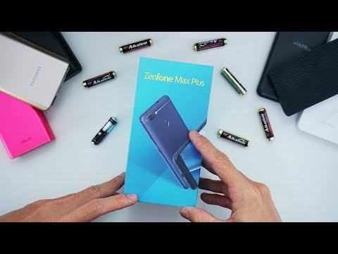 Unboxing Asus Zenfone Max Plus Indonesia!