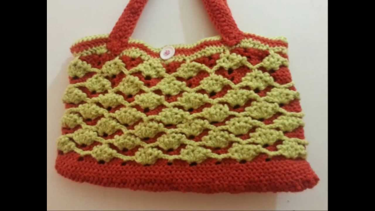 Crochet Bag Youtube : crochet bag 2014 - YouTube