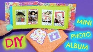 DIY American Girl Doll Photo Album and Photos