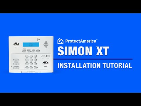 0 Do It Yourself Installation of the Simon XT Wireless Home Security System   Protect America Tutorial