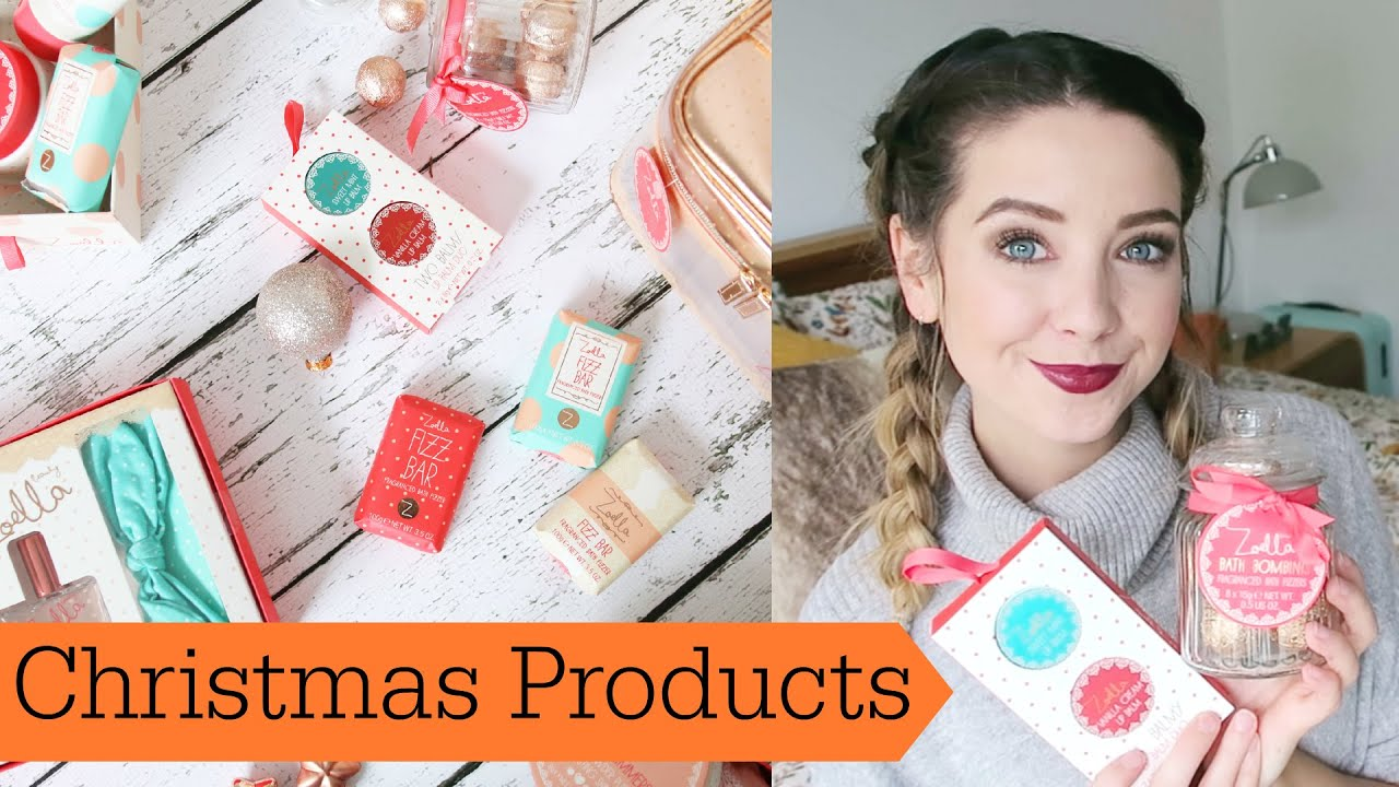 Zoella products