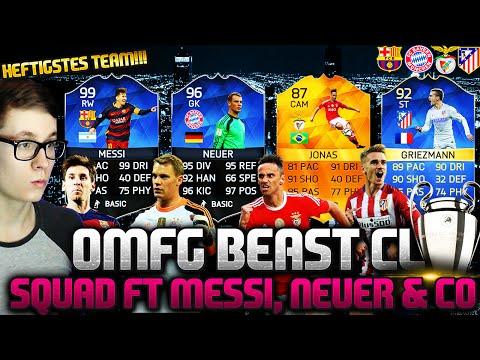 FIFA 16: CHAMPIONS LEAGUE SQUAD (DEUTSCH) - FIFA 16 ULTIMATE TEAM - OMFG BEST TEAM EVER!