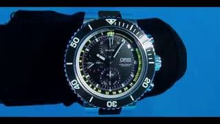 ORIS Aquis DEPTH GAUGE & Linda Paganelli FILM by Jacques De VOS