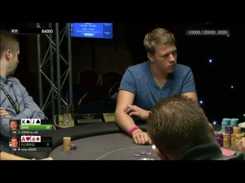 Unibet Open Riga - Main Event, Final Table. HD