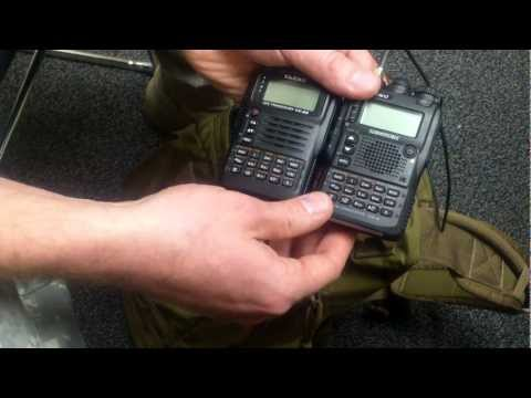 Yaesu VX-8GR vs VX-8DR