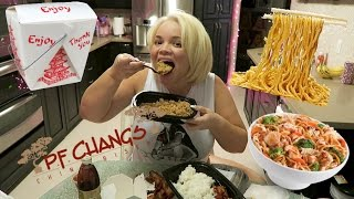 PF Changs MUKBANG (Eating Show) | WATCH ME EAT