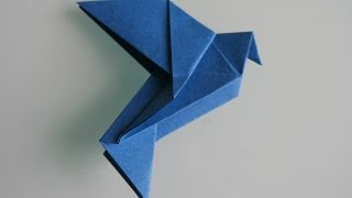 Origami Taube Dove