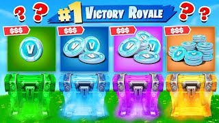 RANDOM V-BUCKS WARS in Fortnite Battle Royale