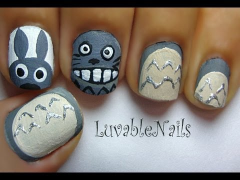 TOTORO/PONYO Collaboration with JapanNailsAndMore by LuvableNails
