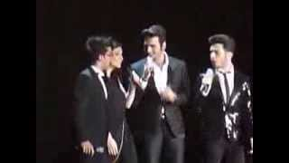 "Laura Pausini + Il Volo sing ""Il mondo"", New York - 6 March 2014 @ Theater of Madison Sq Garden"