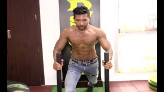 Terence Lewis Workout Video At Gold