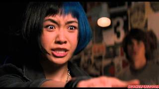 Scott Pilgrim vs. the World (2010) - leather scene HD 720p