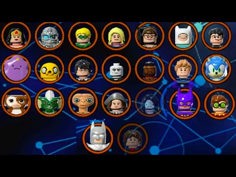 LEGO Dimensions - All Characters (Wave 1 - 7.5 - All Spotlights)