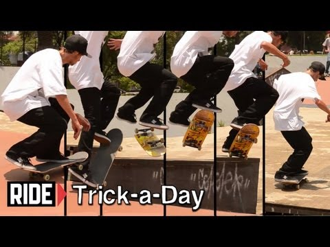 How-To Kickflip Crook With Mario Saenz - Trick-a-Day