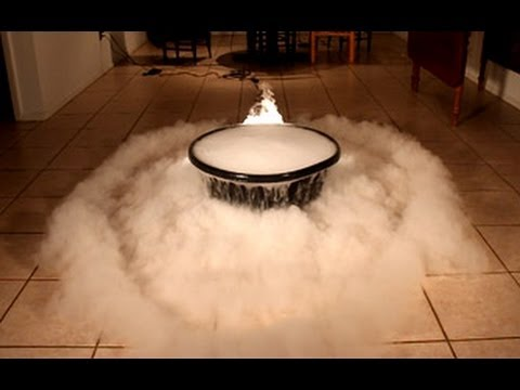 Giant Dry Ice Bubble Experiment!