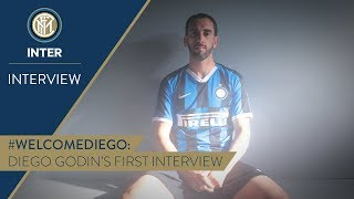 DIEGO GODIN | First Inter TV Interview | #WelcomeDiego! 🎙️⚫️🔵 [SUB ENG + ITA]